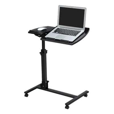 Langria Laptop Rolling Cart Table