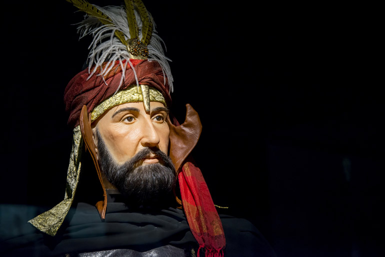 Turkish Sultan Murat the 4th