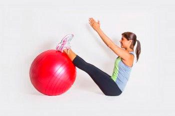 V-Sit Exercise Ball