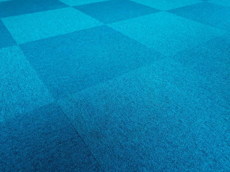 carpet flooring tiles at gym