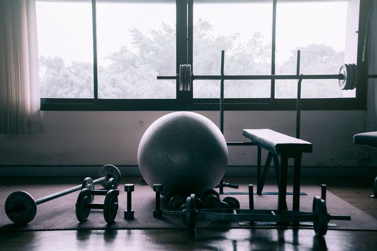 home gym bare essentials
