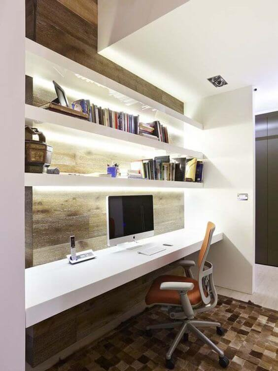 modern home office idea for man