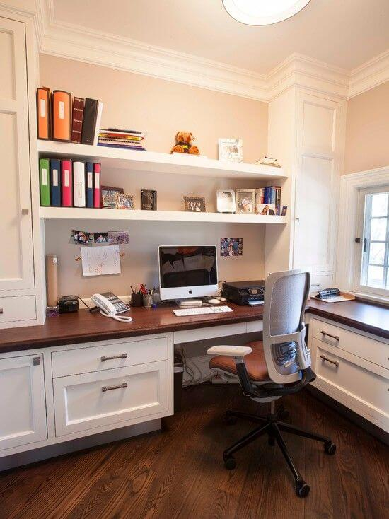 classic home office idea for man