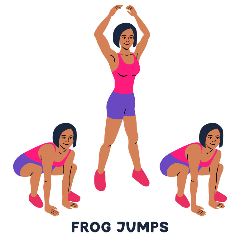 how to Frog Jumps chart