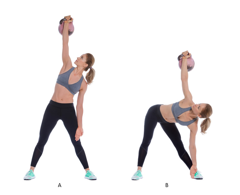 how to Kettlebell Windmill chart