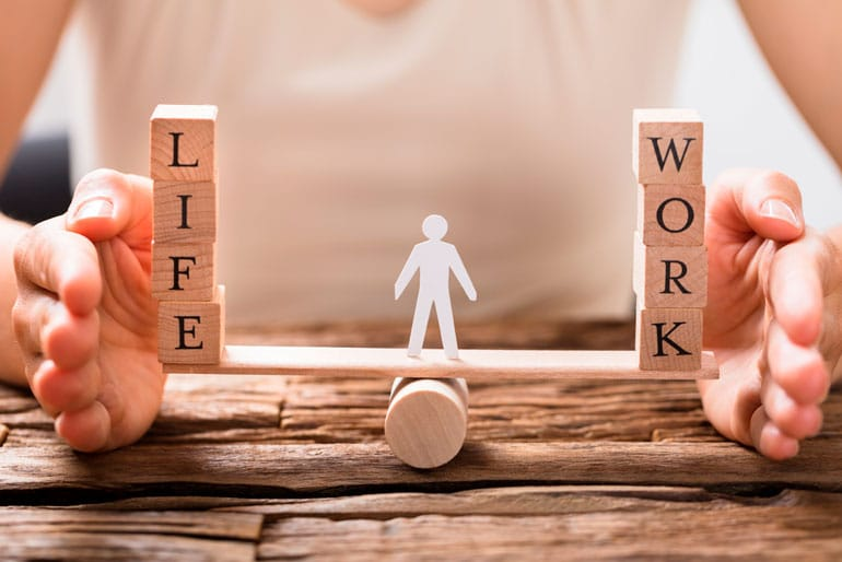 life and work balancing