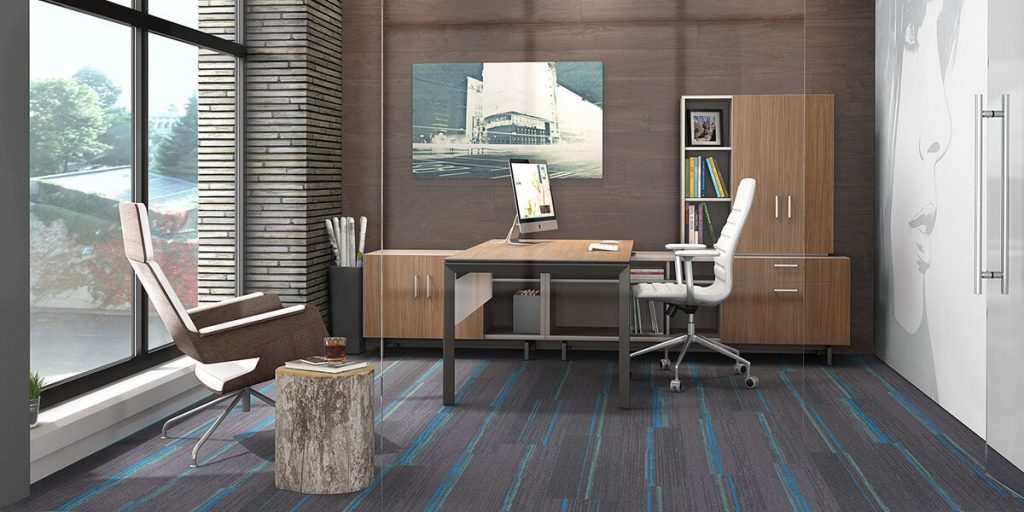 Office desk design at home