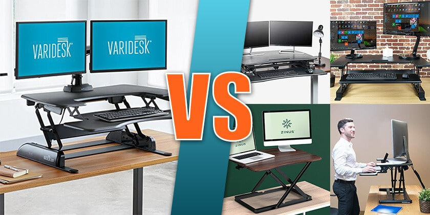 Varidesk Standing Desk Cheaper Alternatives